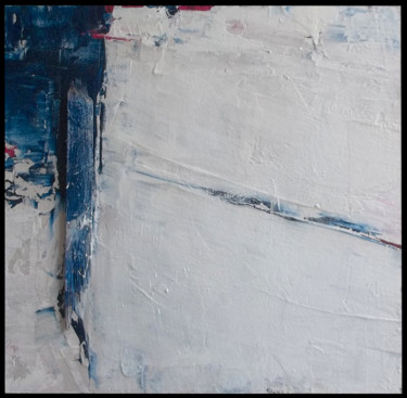 """Painting titled """"FLAG (blue, white,…"""" by Steve Beck, Original Art, Other"""