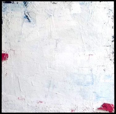 """Painting titled """"FLAG (white, red, b…"""" by Steve Beck, Original Art, Other"""