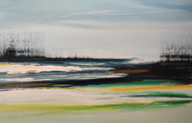 """Painting titled """"Thaw time II"""" by Studio Felix Günther, Original Art, Acrylic"""