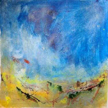 """Painting titled """"Under the spell of…"""" by Suchitra Lata, Original Art, Acrylic"""