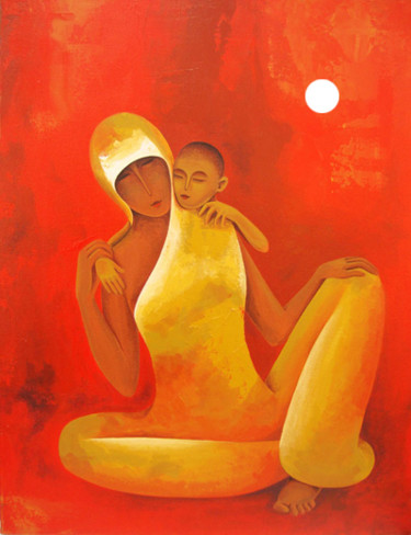 24x18x1 in ©2012 by Surekha Bharne