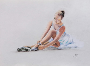 """Painting titled """"The First performan…"""" by Susana Zarate, Original Art, Pastel"""