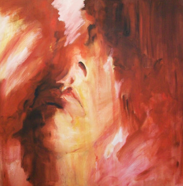 """Painting titled """"Facing the Storm"""" by Susana Zarate, Original Art, Oil"""