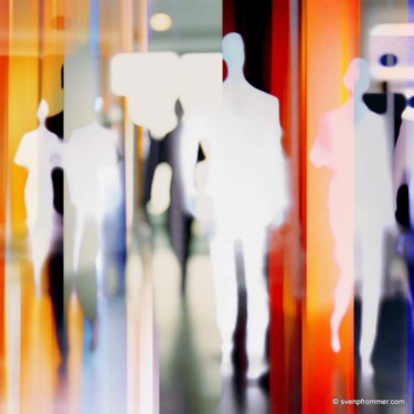 """Printmaking titled """"HUMANBLUR XX by Sve…"""" by Sven Pfrommer, Original Art, Analog Print"""