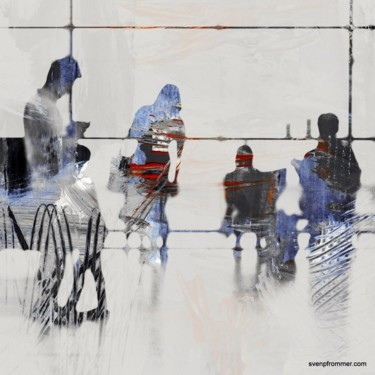 """Printmaking titled """"AIRPORT XXXI - by S…"""" by Sven Pfrommer, Original Art, Analog Print"""