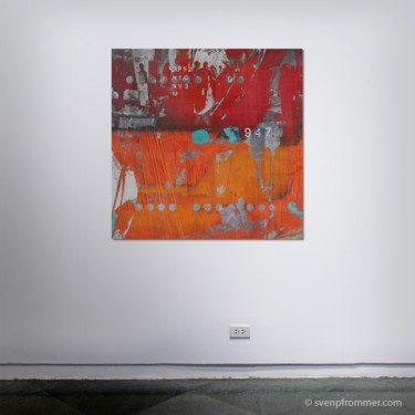 """Printmaking titled """"HUMAN CROWD IX - by…"""" by Sven Pfrommer, Original Art, Analog Print"""