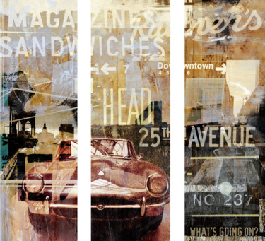 """Printmaking titled """"NEWYORK AVENUE I by…"""" by Sven Pfrommer, Original Art, Analog Print"""