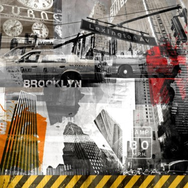 """Printmaking titled """"NY URBAN VIII by Sv…"""" by Sven Pfrommer, Original Art, Analog Print"""