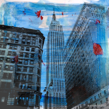 """Printmaking titled """"NEWYORK COLOR II by…"""" by Sven Pfrommer, Original Art, Analog Print"""