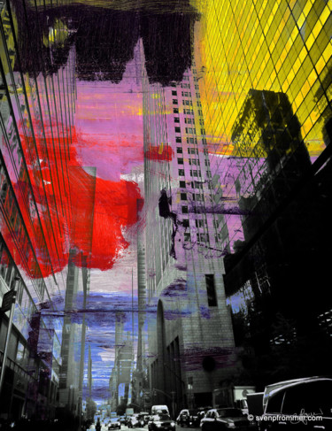 """Printmaking titled """"NEWYORK COLOR XX by…"""" by Sven Pfrommer, Original Art, Analog Print"""