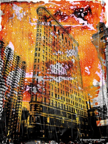 """Printmaking titled """"NEWYORK COLOR V by…"""" by Sven Pfrommer, Original Art, Analog Print"""