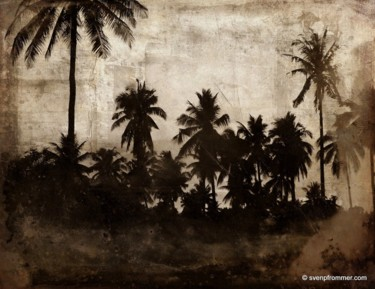 """Printmaking titled """"THE BEACH XIV by Sv…"""" by Sven Pfrommer, Original Art, Analog Print"""
