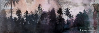 """Printmaking titled """"THE BEACH XVI by Sv…"""" by Sven Pfrommer, Original Art, Analog Print"""