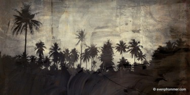 """Printmaking titled """"THE BEACH XV by Sve…"""" by Sven Pfrommer, Original Art, Analog Print"""