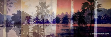"""Printmaking titled """"THE BEACH III by Sv…"""" by Sven Pfrommer, Original Art, Analog Print"""