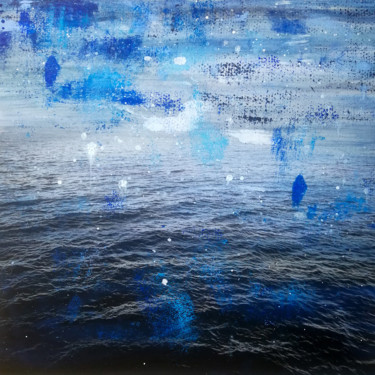 """Printmaking titled """"Sea III - Mixed Med…"""" by Sven Pfrommer, Original Art, Analog Print"""