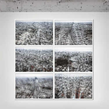 """Printmaking titled """"TOKYO SKY - Limited…"""" by Sven Pfrommer, Original Art, Analog Print"""