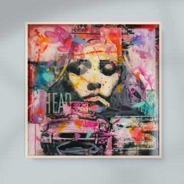 """Printmaking titled """"DIVA POP UP - Mixed…"""" by Sven Pfrommer, Original Art, Analog Print"""