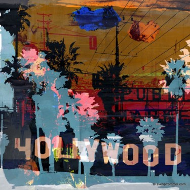 """Printmaking titled """"LOS ANGELES XIII by…"""" by Sven Pfrommer, Original Art, Analog Print"""