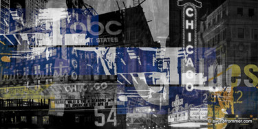 """Printmaking titled """"CHICAGO II by Sven…"""" by Sven Pfrommer, Original Art, Analog Print"""