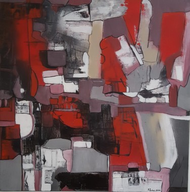 Color Painting, acrylic, abstract, artwork by Sylvie Degeorge