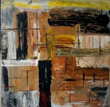 27.6x27.6x1 in ©2020 by Sylvine Menonville