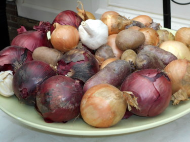 """Photography titled """"onions"""" by Tom Schrijver, Original Art,"""