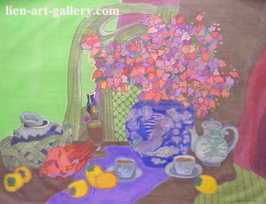 Painting, artwork by Ta Phuong Thao