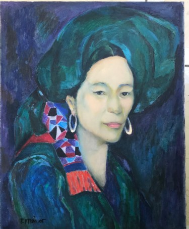 Everyday Life Painting, oil, abstract, artwork by Ta Phuong Thao
