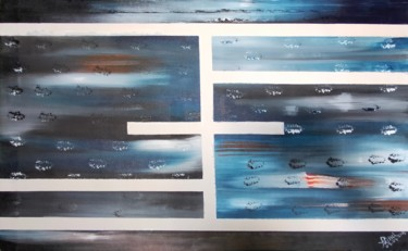 """Painting titled """"Line of lovestract"""" by Taijul, Original Art, Acrylic"""