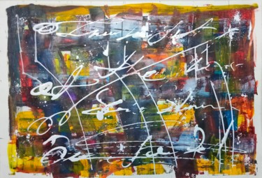 """Painting titled """"Multicolor"""" by Taijul, Original Art, Acrylic"""