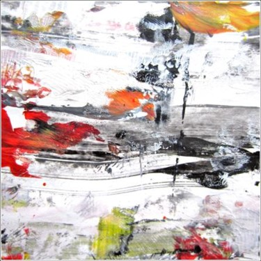 """Painting titled """"Abstract 03"""" by Delphine Bernard, Original Art,"""
