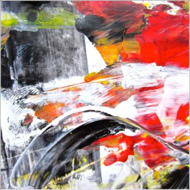 """Painting titled """"Abstract 05"""" by Delphine Bernard, Original Art,"""