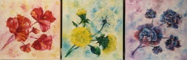 """Painting titled """"Triptych. Paintings…"""" by Tatiana Kril, Original Art, Oil"""