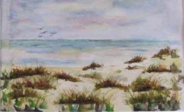 Painting, oil, artwork by Christiane Michaud
