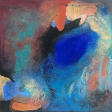 """Painting titled """"Search for a meaning"""" by Teofana Zaric, Original Art, Acrylic"""