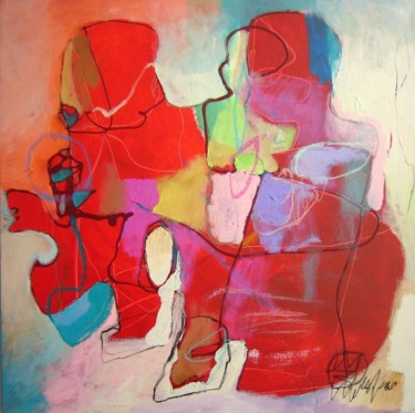 """Painting titled """"ABSTRACT X27"""" by Teofana Zaric, Original Art, Oil"""