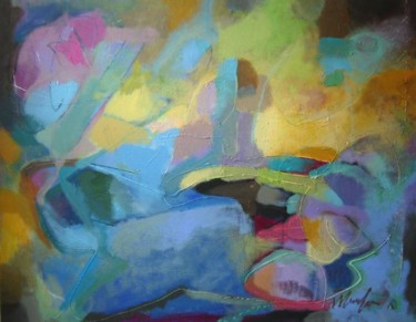 """Painting titled """"ABSTRACT S26"""" by Teofana Zaric, Original Art,"""