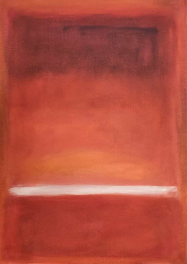 Color Painting, oil, abstract, artwork by Thia Path