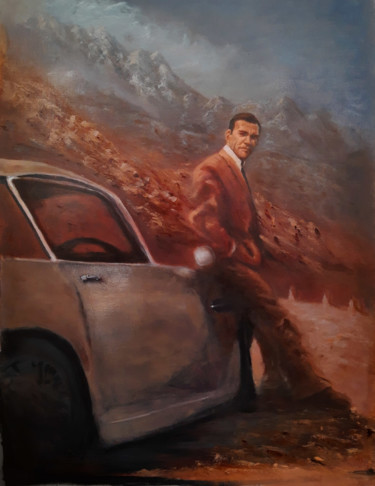 """Painting titled """"Bond-02"""" by Thomas Duray, Original Art, Oil"""