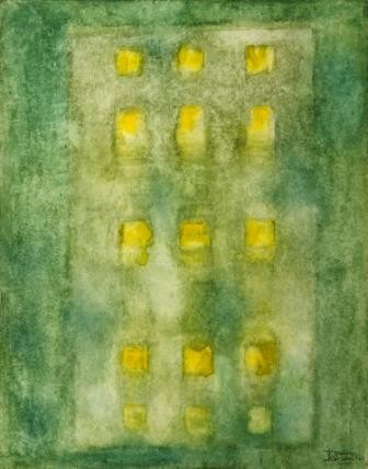 """Painting titled """"DROPS"""" by Thushara A., Original Art, Oil"""