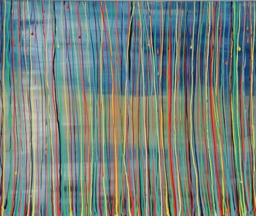 """Painting titled """"S VI"""" by Rainer Linden, Original Art, Acrylic"""