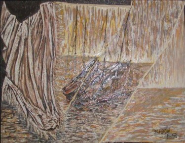 47.2x63 in ©2003 by Halima Echaoui