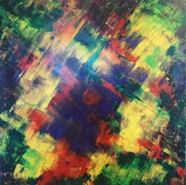 Painting, oil, abstract, artwork by Tina Lane