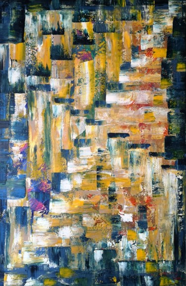 Painting, acrylic, abstract, artwork by Natalia Toderica