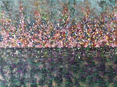 """Painting titled """"Floral fantasy #4"""" by Natalia Toderica, Original Art, Acrylic"""