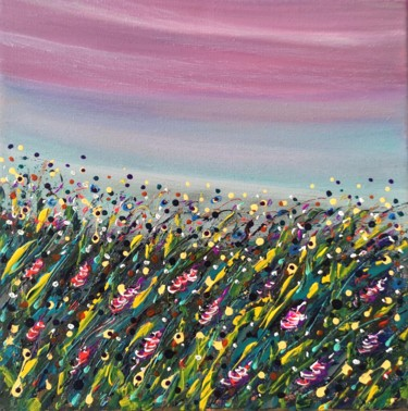 """Painting titled """"""""Summer Mood #2"""" -…"""" by Natalia Toderica, Original Art, Acrylic"""