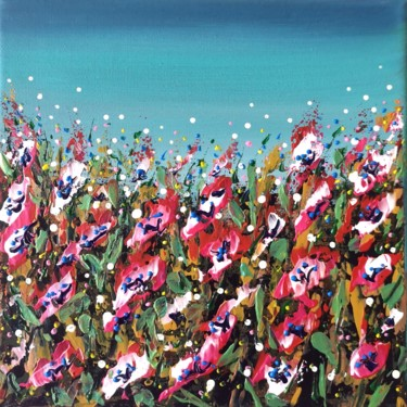 """Painting titled """"""""Summer Mood #3"""" -…"""" by Natalia Toderica, Original Art, Acrylic"""