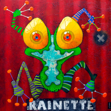 """Painting titled """"Big Rainette"""" by Toma, Original Art, Acrylic"""