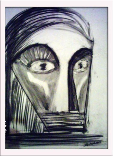 """Drawing titled """"Icon"""" by Toon Diepstraten, Original Art,"""